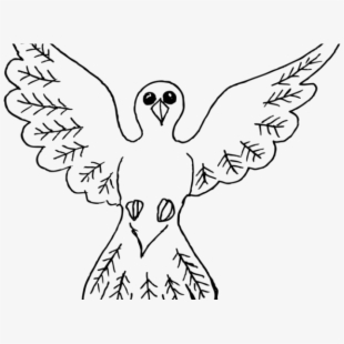 Pigeon Clipart Majestic Bird.