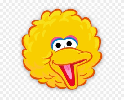 Result For: big bird face , HD PNG , Free png Download.