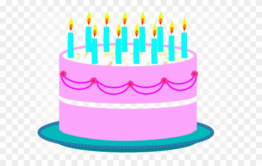 Birthday Cake Clipart Top.