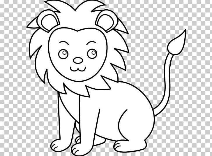 White Lion Black And White PNG, Clipart, Art, Big , Black.
