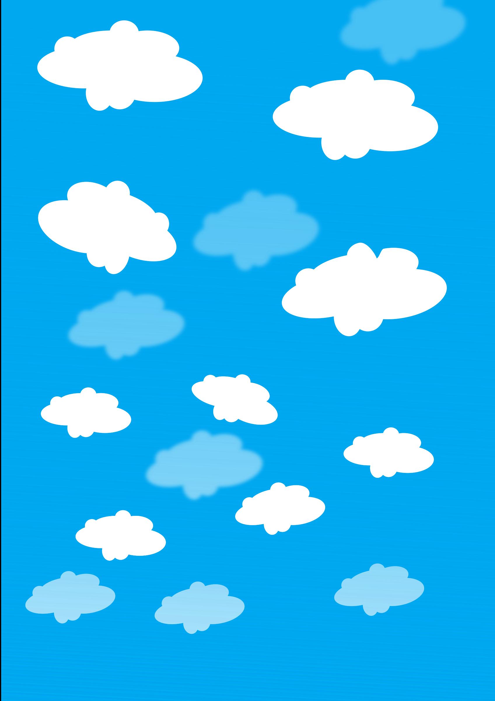 Big blue sky clipart Clipground