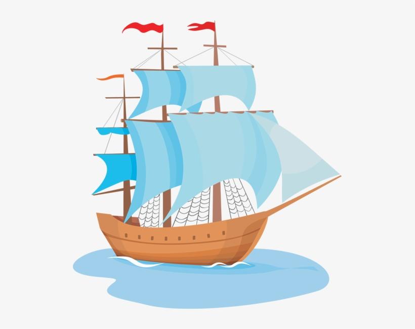 Sailing Clipart Big Boat.
