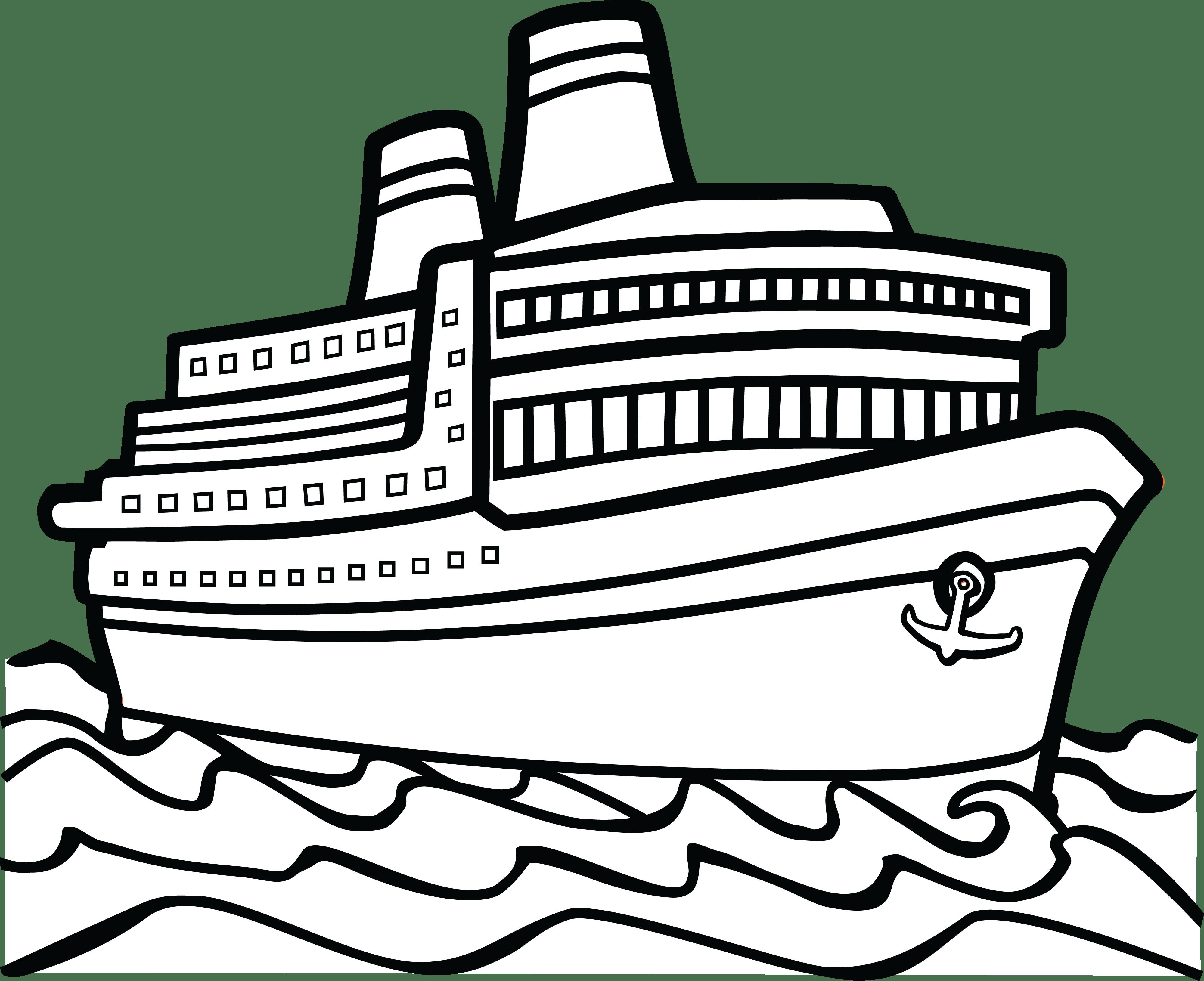 Big boat clipart 1 » Clipart Portal.