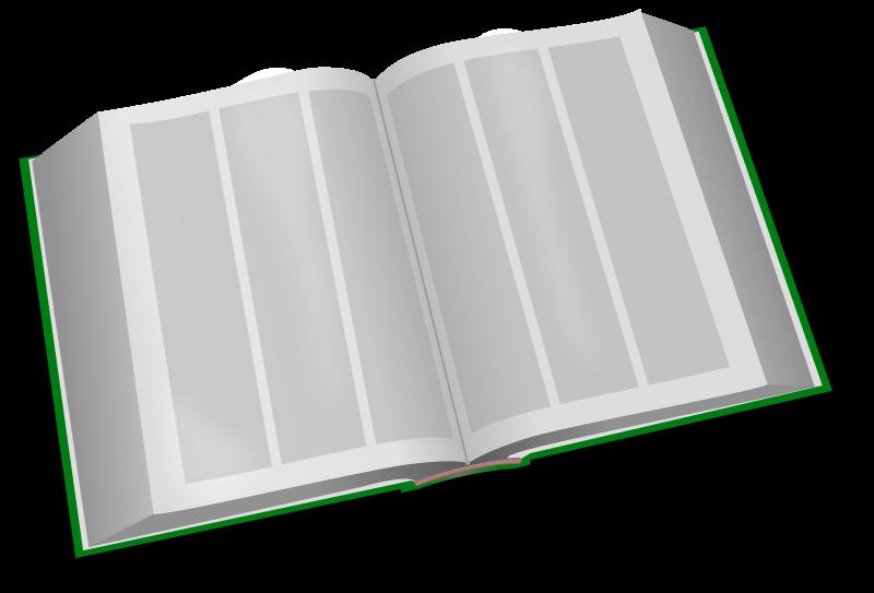 Free Clipart: Big Book.