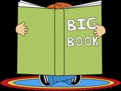 Big Books Clipart.