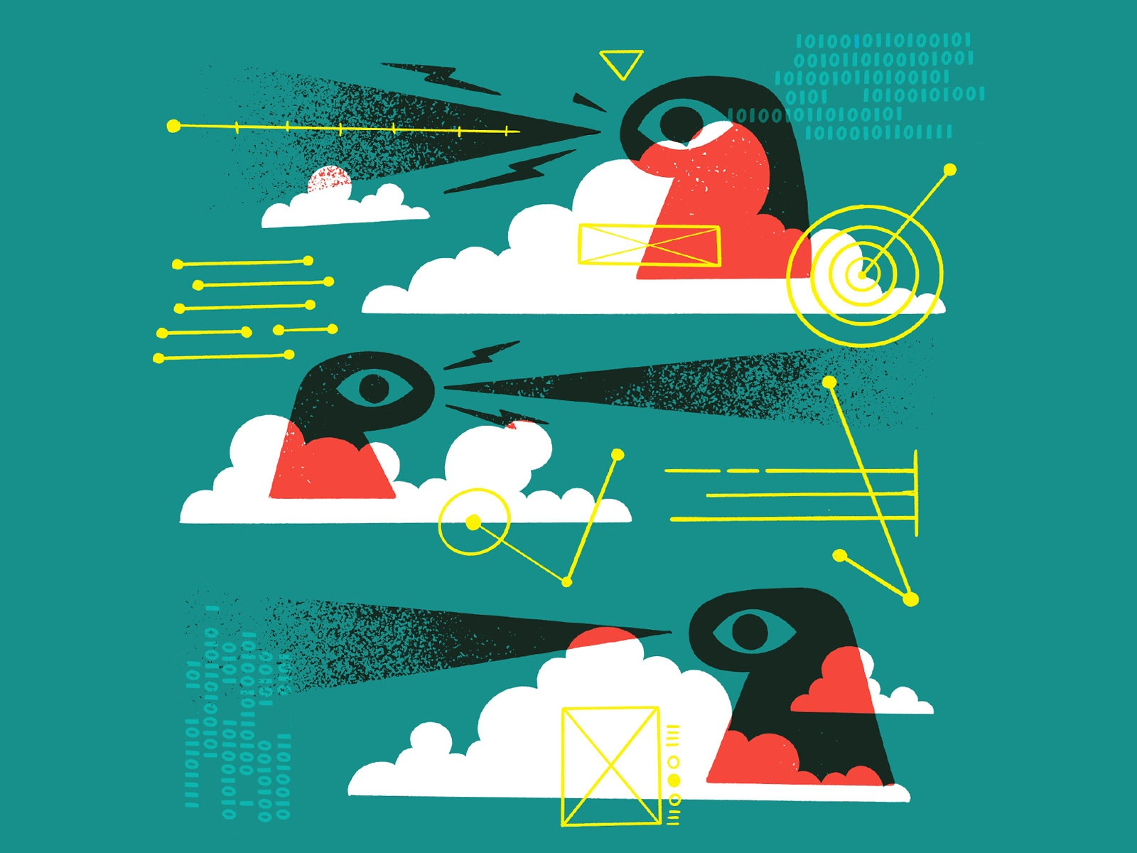 Big Brother is Watching by Jetpacks and Rollerskates on Dribbble.