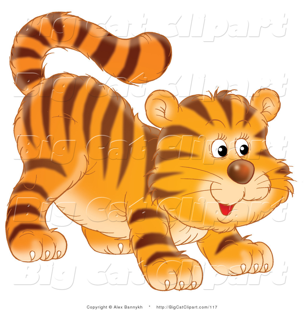Big cat clipart #17