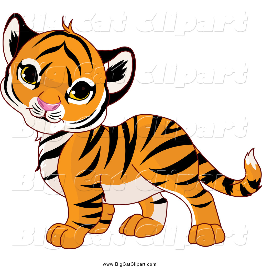 Big cat clipart #3