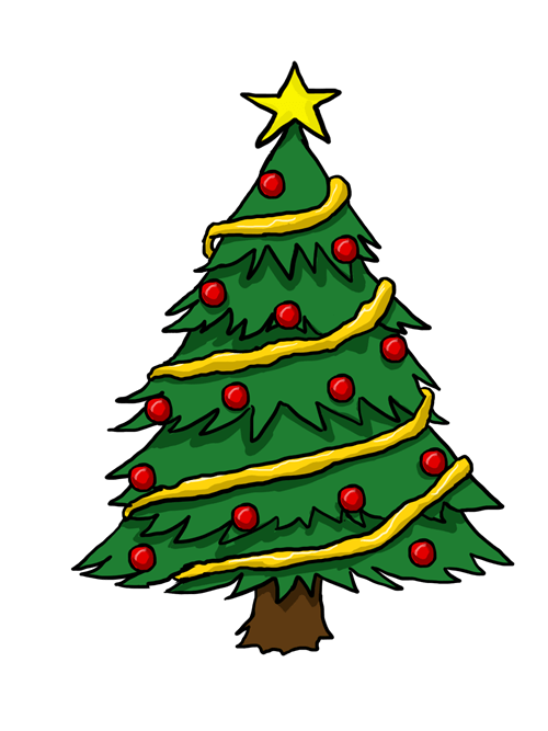 List of Best Sites to Find Free Christmas Tree ClipArt.