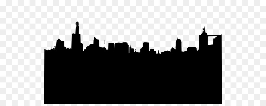 New York City Vector graphics Skyline Silhouette New City.