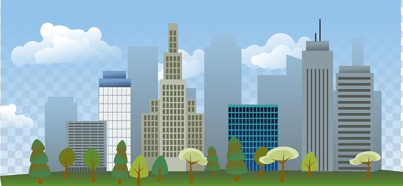 Cities: Skylines City , Big City transparent background PNG.