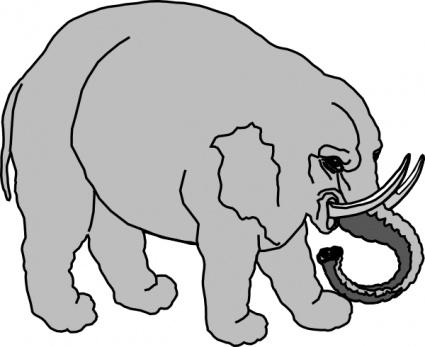 Big animals clipart.