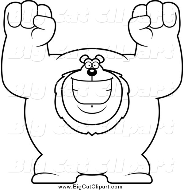 Big clipart black and white 1 » Clipart Station.