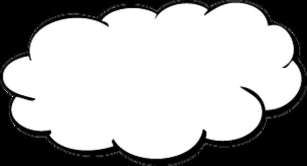 Big cloud clipart 3.