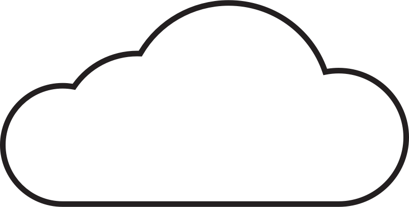 Rain cloud clip art free vector in open office drawing svg.
