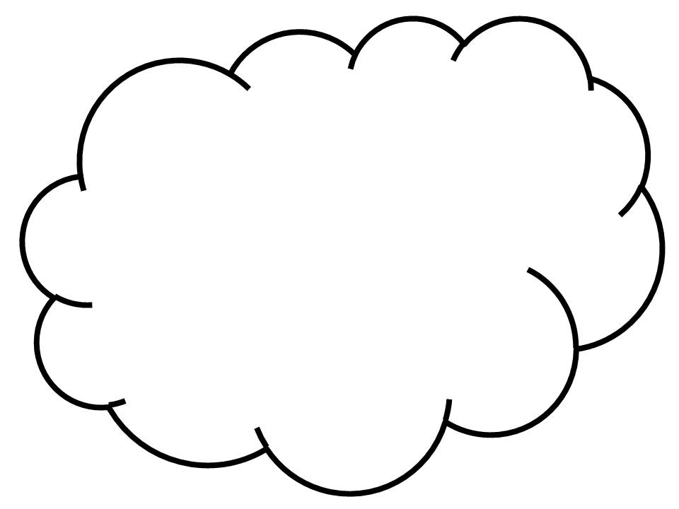 Big Cloud Clipart.