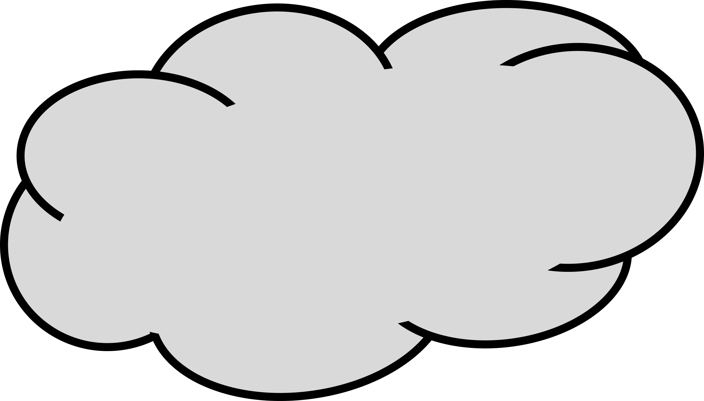 Big cloud clipart 2.