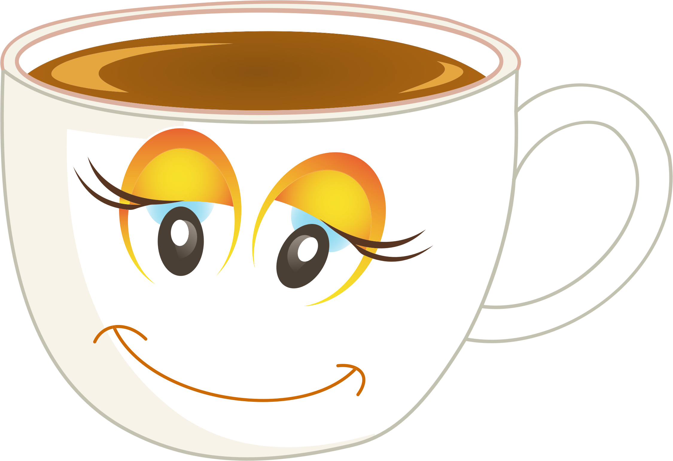 Coffee clipart woman, Coffee woman Transparent FREE for.