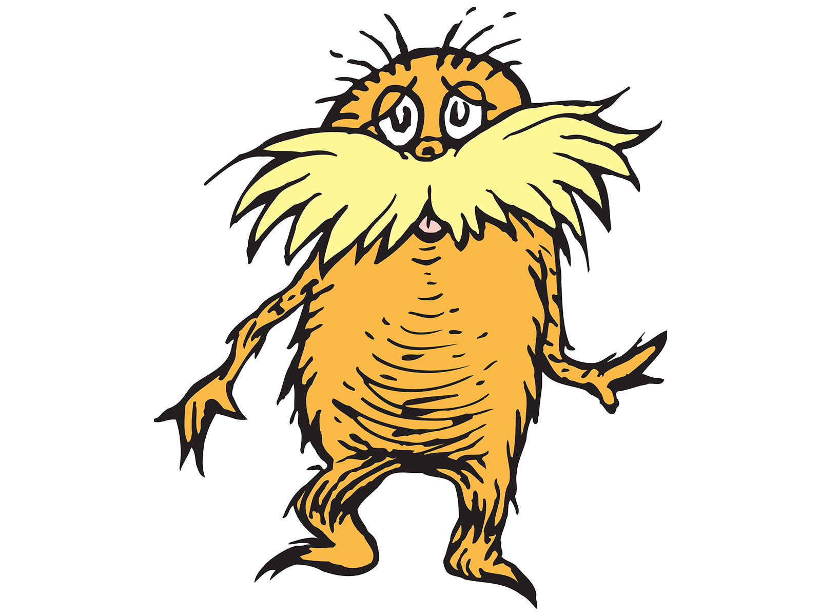 New Research Suggests Dr. Seuss Modeled the Lorax on This.