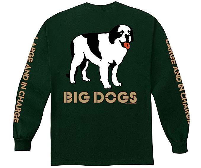 Amazon.com: Big Dogs Logo Long Sleeve T.