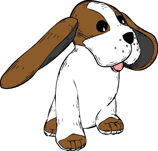 Big Earred Dog Clip Art at Clker.com.