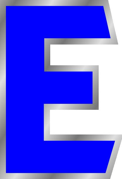Letter E Clip Art at Clker.com.