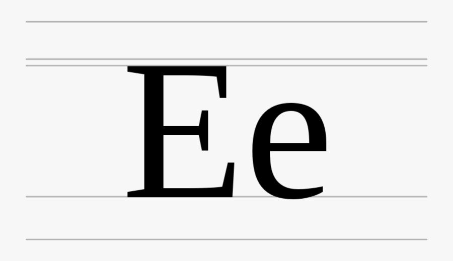 Cyrillic Letter Ye.