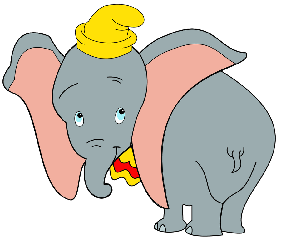 Elephant big ears clipart.