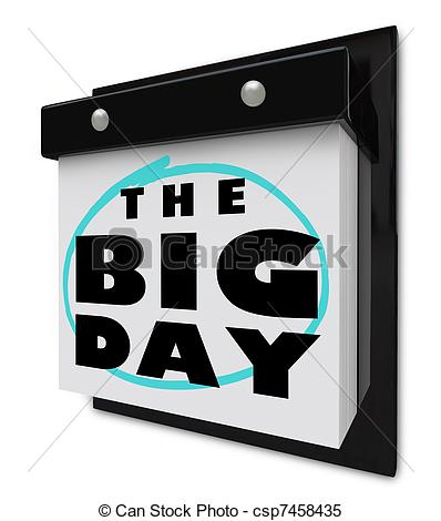 Big day Illustrations and Clipart. 8,979 Big day royalty free.