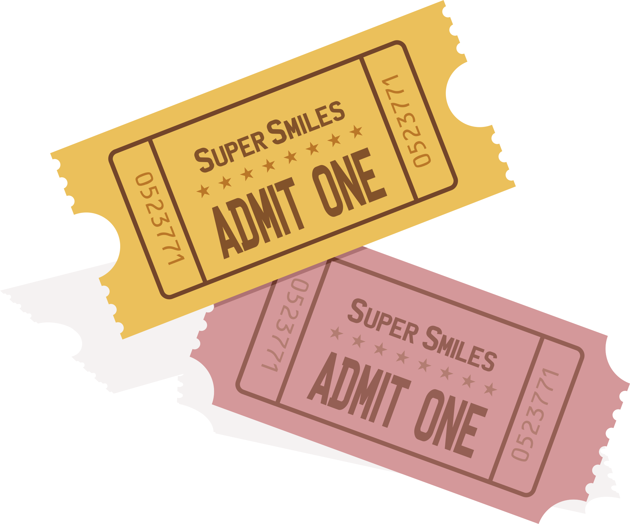 Event ticket clipart.
