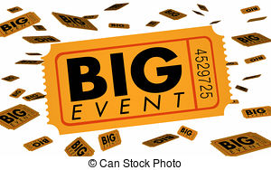 Big event Illustrations and Clipart. 6,141 Big event royalty free.
