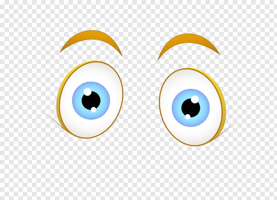Wide open eyes, Eye Cartoon, Cartoon characters with big.