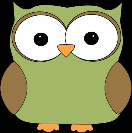 Cute Owl Eyes Clipart.