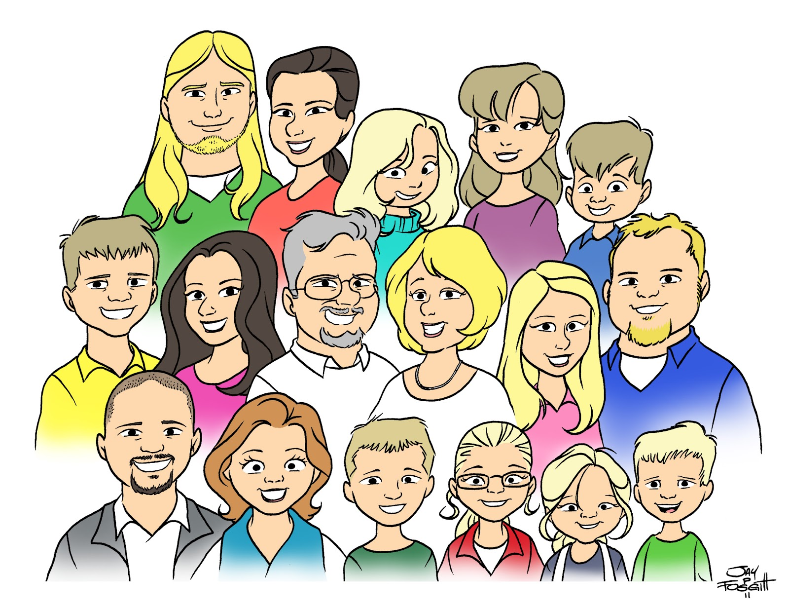 Extended family clipart black and white 13 » Clipart Station.
