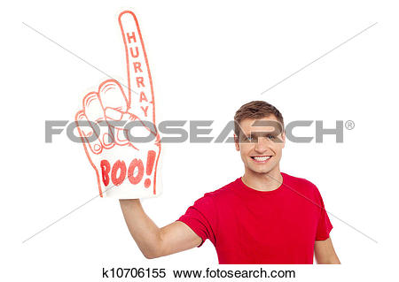 Stock Image of I am a big fan of sports, are you ? k10706155.