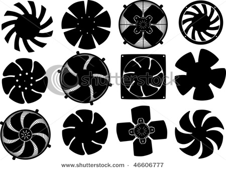 Cooling fan clipart.