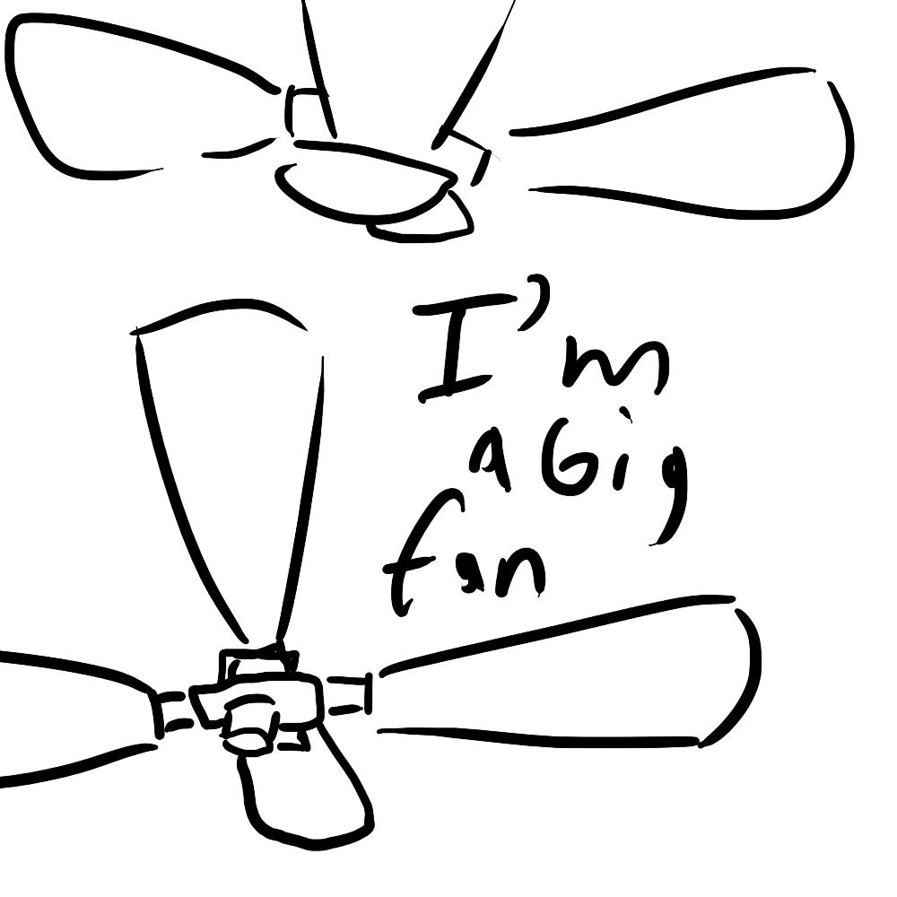 Big Fan Clipart.