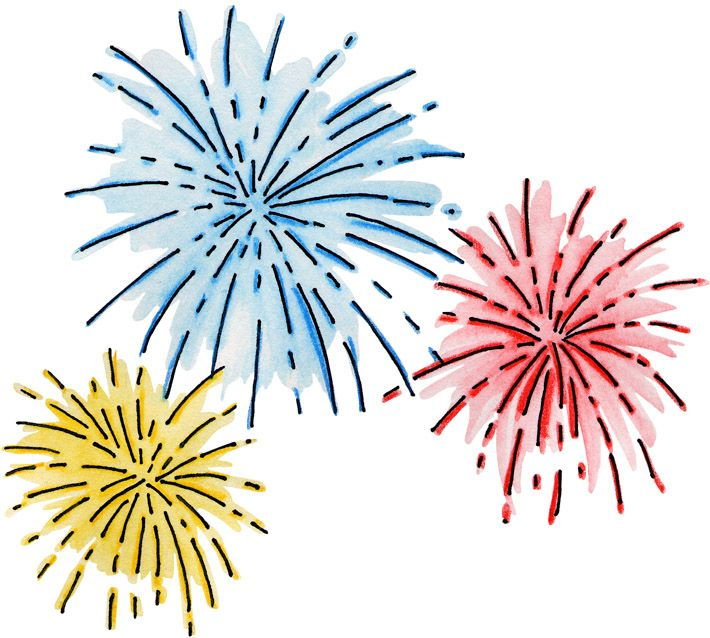 17 best ideas about fireworks clipart on pinterest