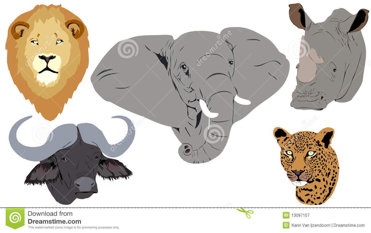 Big Five Clipart.