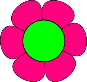Large flower clipart.