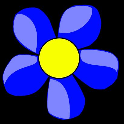 Big Flower Clip Art.