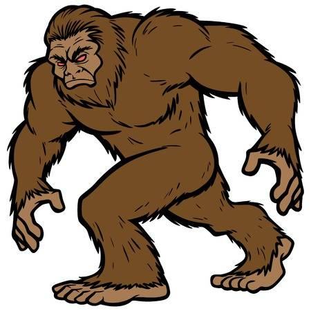 3,104 Bigfoot Cliparts, Stock Vector And Royalty Free Bigfoot.