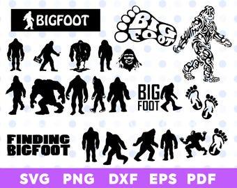 Bigfoot svg bundle.