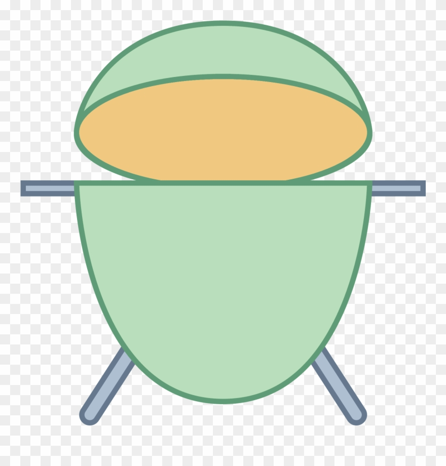 It's A Logo Of Big Green Egg Reduced To An Image.