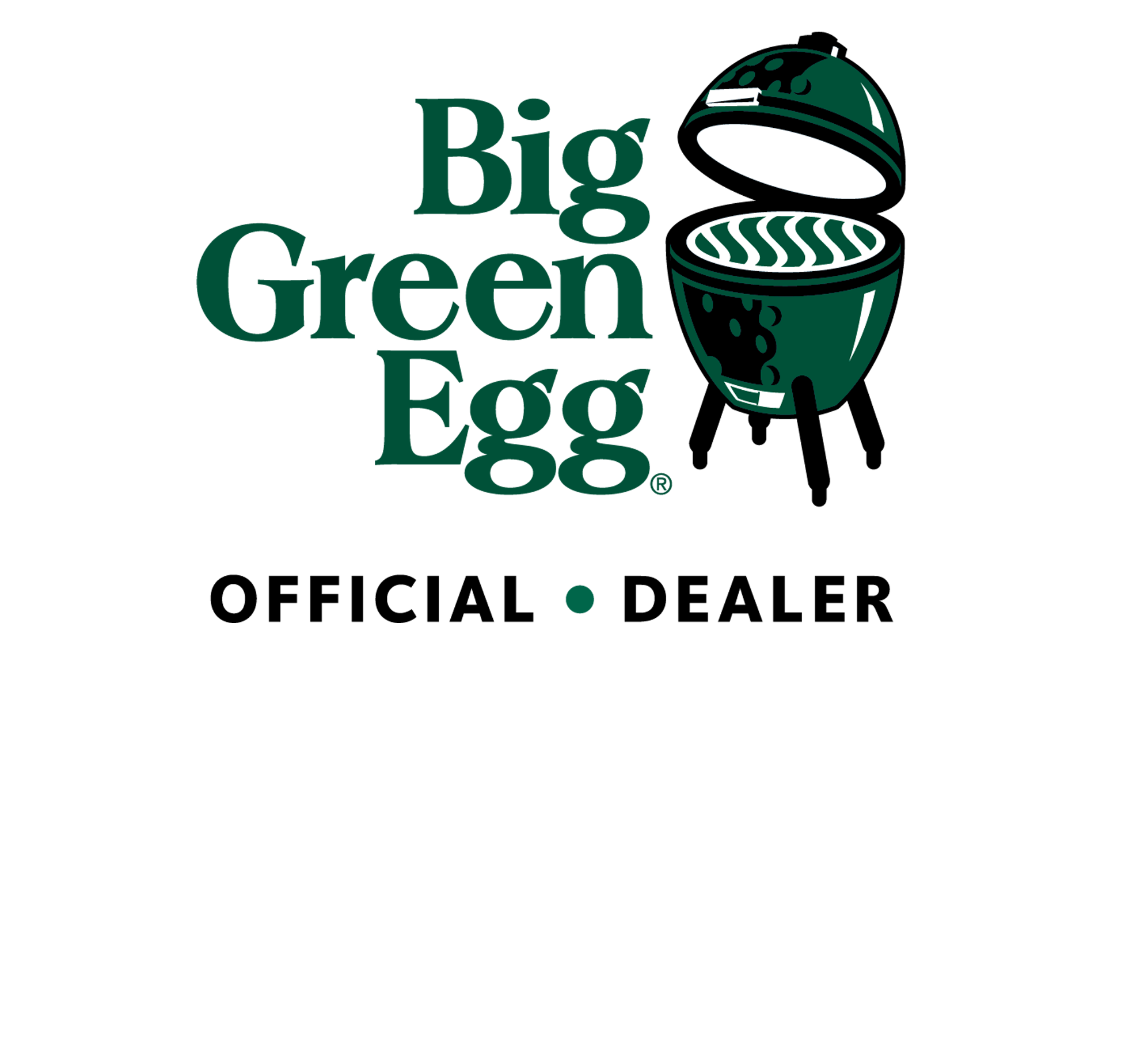 big green egg dealer official logo.