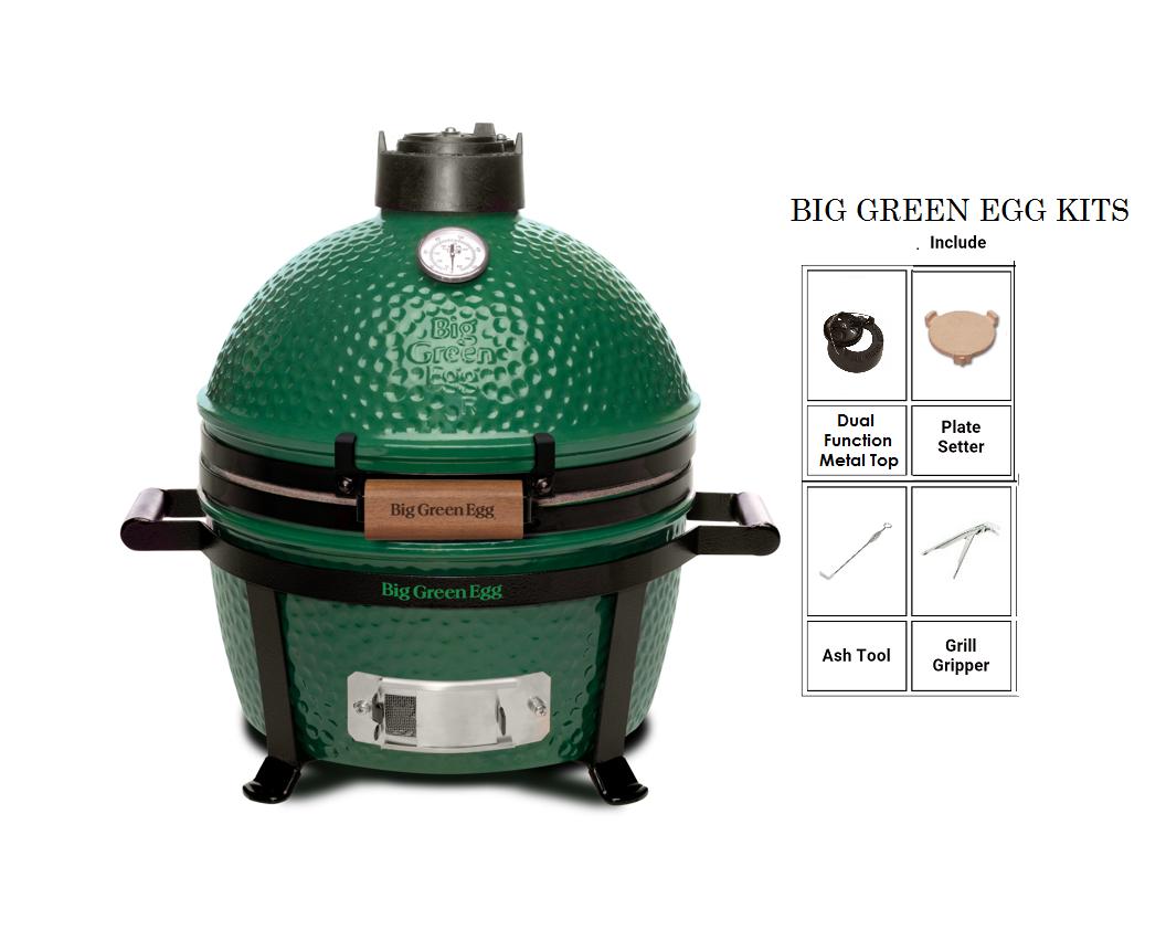 BIG GREEN EGG (MiniMax) Kit.