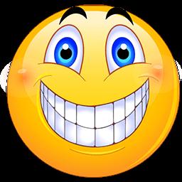 big cheesy grin clipart 83335.