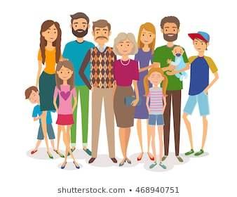 Big happy family clipart » Clipart Portal.