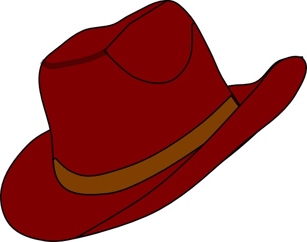 Big hat clipart.