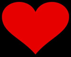 Big Heart Clip Art at Clker.com.